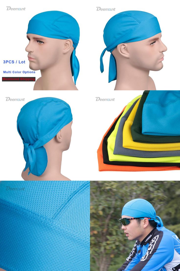 [Visit to Buy] 3PCS/Lot Monitored Shipping Sports Cap Outdoor Workout Spinning Headwear Scarf Bicycle Bike Comfy Solid Pattern Unisex Bandana #Advertisement