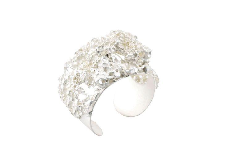 "Elisabeth Habig ""radici dell´anima"" bracelet 2017 material: silver"