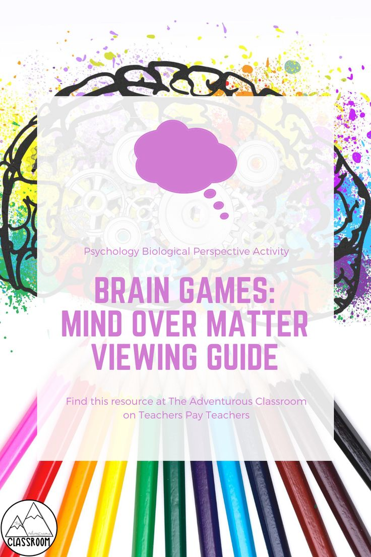 Brain Games Mind Over Matter Viewing Guide in 2020