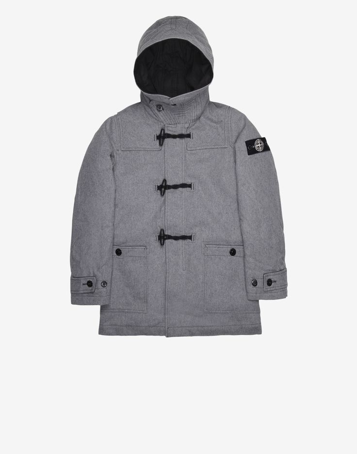 41035 ICE JACKET WOOL BLEND in Grey