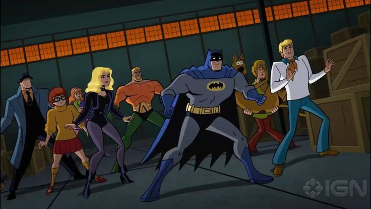 Scooby-Doo! & Batman: The Brave and the Bold - Trailer Debut - YouTube
