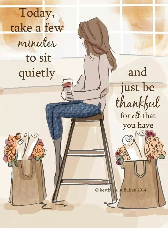 ... just be thankful...