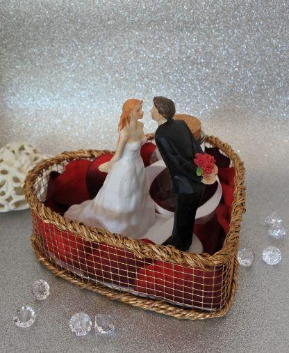 Labuna Hochzeitsgeschenke Herz Brautpaar Geldgeschenk Ebay Kork