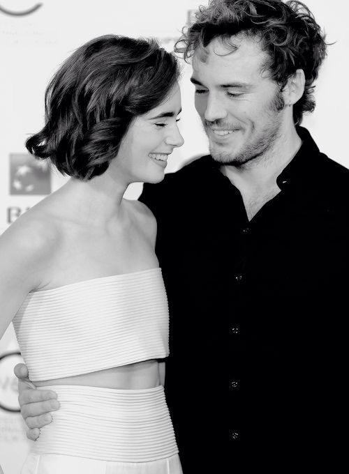 lily collins and sam claflin relationship goals