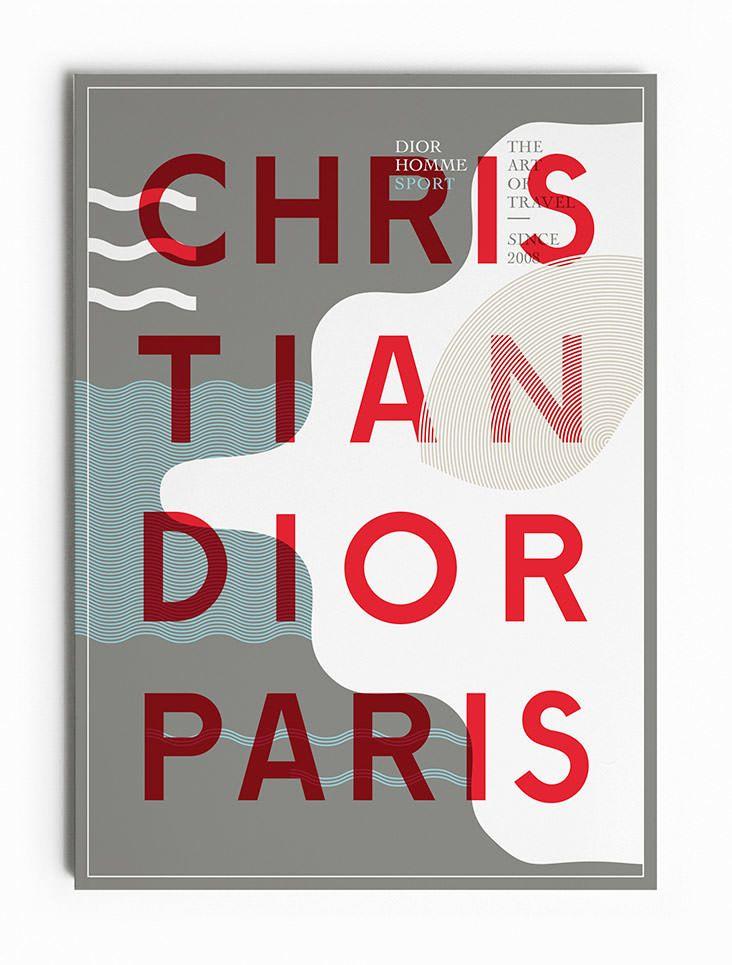 Christian Dior - Dior Homme Sport - Les Graphiquants