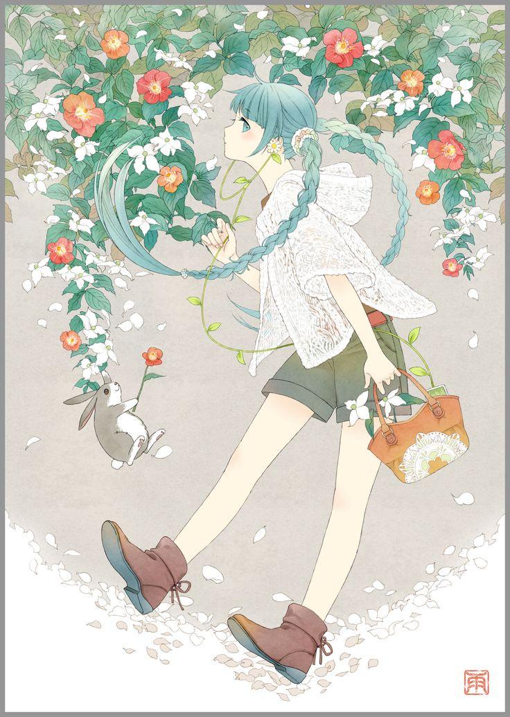 Earth Music & Ecology Japan Label  -Hatsune Miku