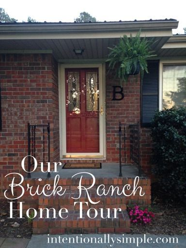 Brick Ranch Home Tour - A glimpse into our 3 bedroom, 1.5 bath 1970s brick ranch.