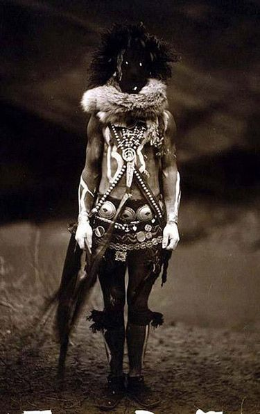 Old Mysterious Photos of Shamans and Medicine Men | The Ghost Diaries