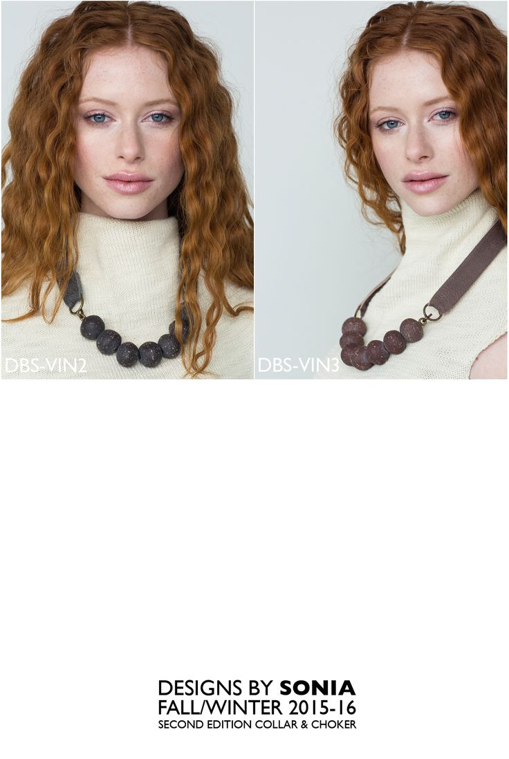 Old Beads and leather chokers, Designs By Sonia