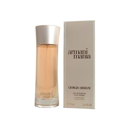 Giorgio Armani Mania 75 ml #http://pinterest.com/savate1/boards/ Elixir that unleashes a woman's emotions