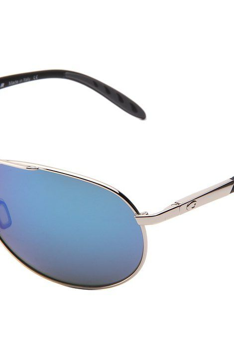 Costa Wingman 580 Glass (Palladium/Blue Mirror 580 Glass Lens) Sport Sunglasses - Costa, Wingman 580 Glass, WM 21 OBMGLP, Eyewear Sport General, Sport Eyewear, Sport, Eyewear, Gift - Outfit Ideas And Street Style 2017
