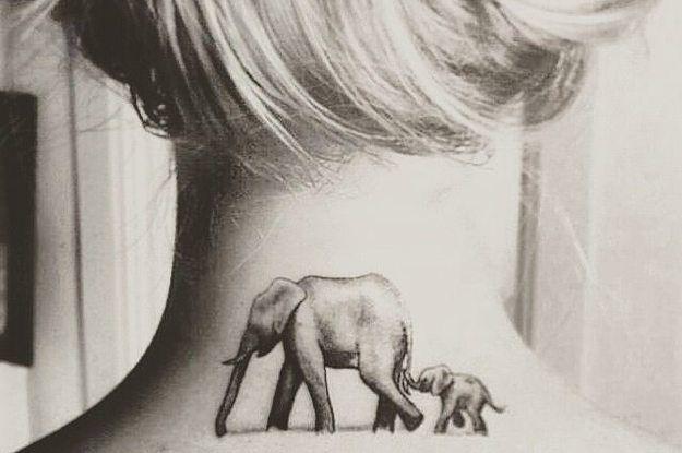 die besten 20 kleine elefanten tattoos ideen auf pinterest baby elefant tattoo. Black Bedroom Furniture Sets. Home Design Ideas