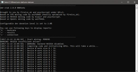 New XMR-stak All-in-one Cryptonight Miner for AMD Nvidia and CPU  The latest version of the XMR-stak miner (source) now comes in an all-in-one solution that can work on both CPU as well as GPU together or separately and supports both AMD and Nvidia GPUs. XMR-stak supports tthe Cryptonight for Monero (XMR) and Cryptonight-light for AEON as algorithms and offers some of the best hashrates in terms of performance competing with Cast-XMR for the best AMD hashrate especially on AMD RX VEGA GPUs…