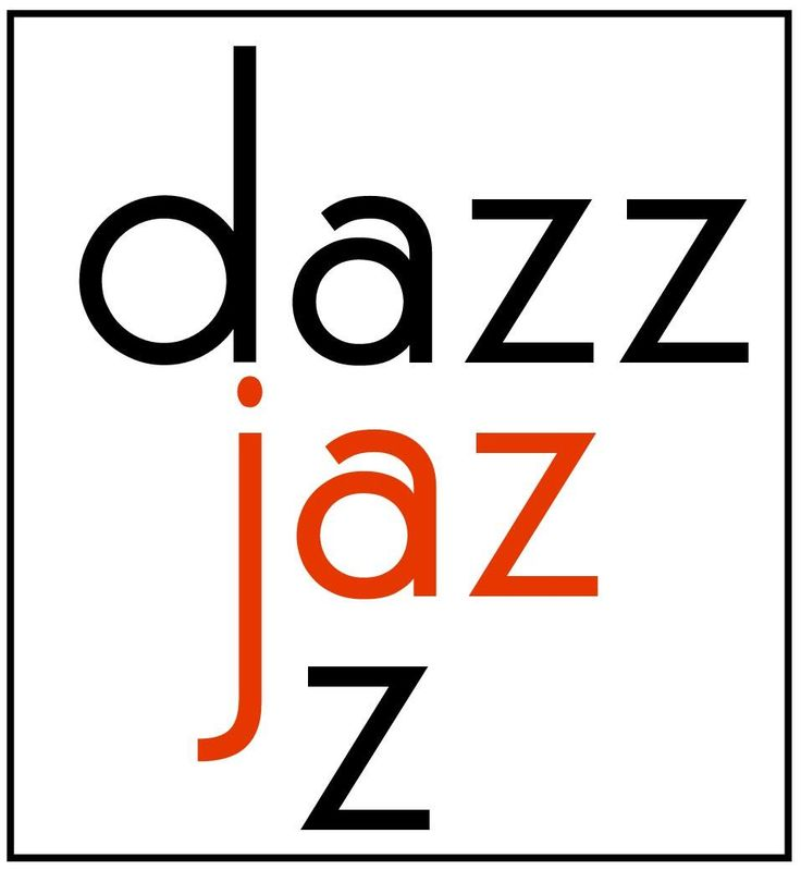I created a logo for our jazz band, Dazzjazz.