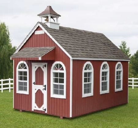 Backyard Amp Schoolhouse North Country Sheds Ottawa Shed