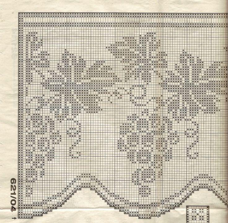 Gallery.ru / Фото #137 - Filet Crochet pour Point de Croix 2 - Mongia