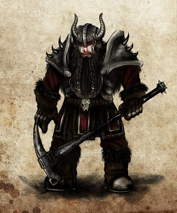 Dwarf Carnifex | Aetolia, the Midnight Age | The Best Online Vampire Themed RPG