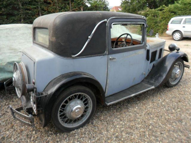 ** 1933 MORRIS 10/4 DOCTORS COUPE, ULTRA RARE! DRY STORED FOR 50 YEARS! ** | eBay
