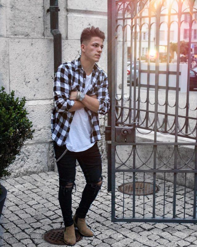 College Fall Outfits Men