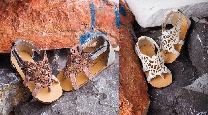 Luxury Kastor Swarovski Sandals by BABYWALKER