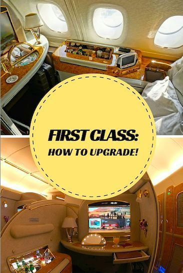 how to travel first class for cheap