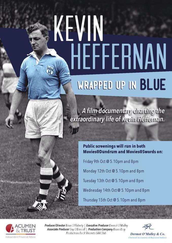 We Are Dublin KEVIN HEFFERNAN: WRAPPED UP IN BLUE - We Are Dublin