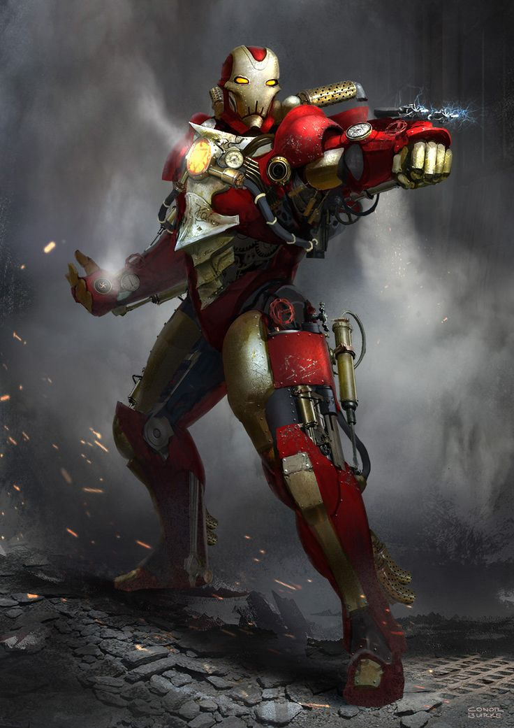 Pin by G.O.S.Studio on World of Steampunk Art | Iron Man ...