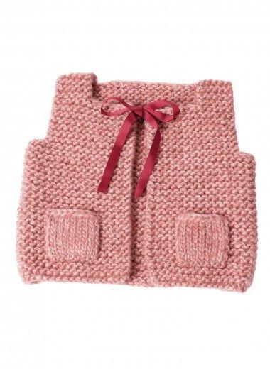 Mag 164 - n° 19 Gilet bébé Modèles, broderie tricot Achat en ligne