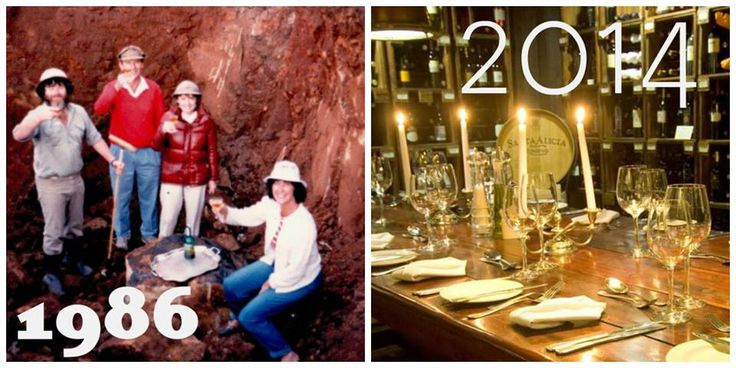 """The Granny Mouse Country House & Spa Cellar was """"christened"""" with its first round of drinks in 1986. Pin this #TBT fact www.midlandsmeander.co.za"""