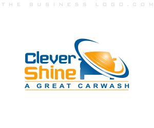 Clever Shine: Cleaning and Maintenance Logo Design Samples by http://www.TheBusinessLogo.com #logo #design #inspiring #cleaning #business