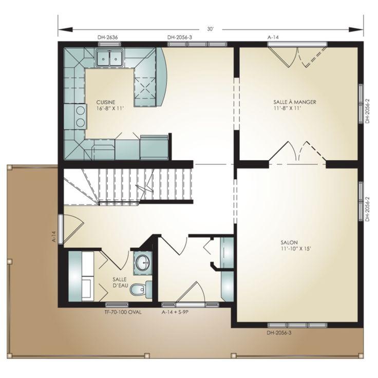 Pro fab constructeur de maisons modulaires usin es pr fabriqu es mod le lotbini re for Plan b design fabrication inc