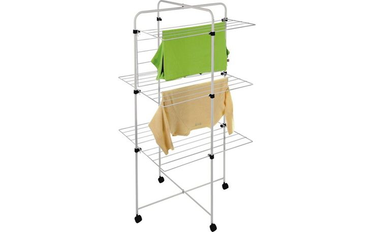 Buy Small Tower 20m Indoor Clothes Airer at Argos.co.uk - Your Online Shop for Washing lines and airers, Laundry and cleaning, Home and garden.