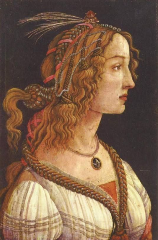 Sandro Botticelli, Portrait Of A Young Woman, 1485
