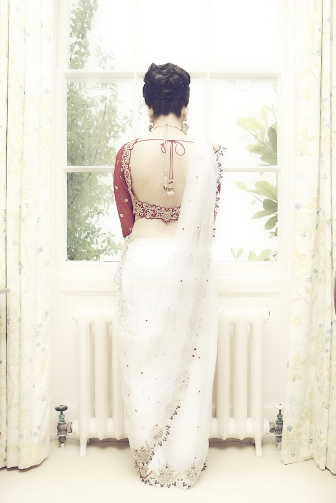 gorgeous back blouse Photo by:Dinesh