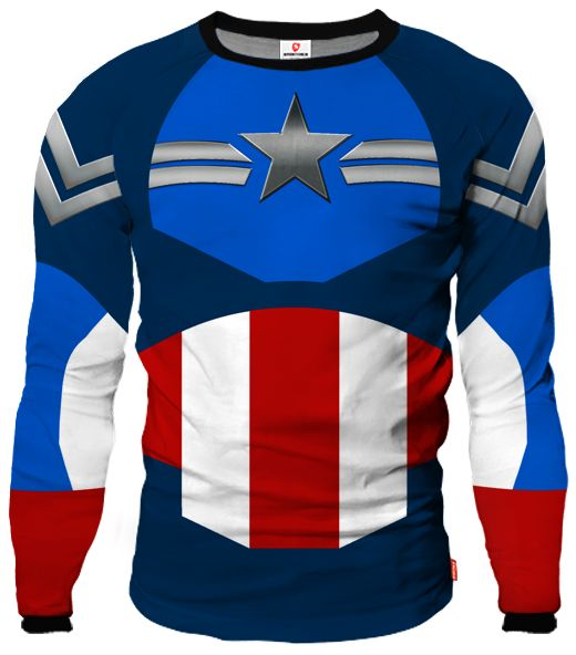 CAPTAIN AMERICA Goalkeeper Jersey With Custom Name and Number
