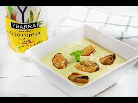 Receta Crema fría de espárragos y mayonesa Ybarra - Ybarra en tu cocina