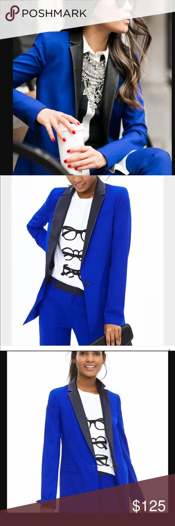 Banana Republic Royal Blue Blazer size 12 new Banana Republic Royal Blue Blazer size 12 new Banana Republic Jackets & Coats Blazers