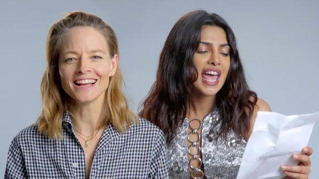 "Actresses Priyanka Chopra and Jodie Foster Reinterpret ""Toxic"" by Britne..."