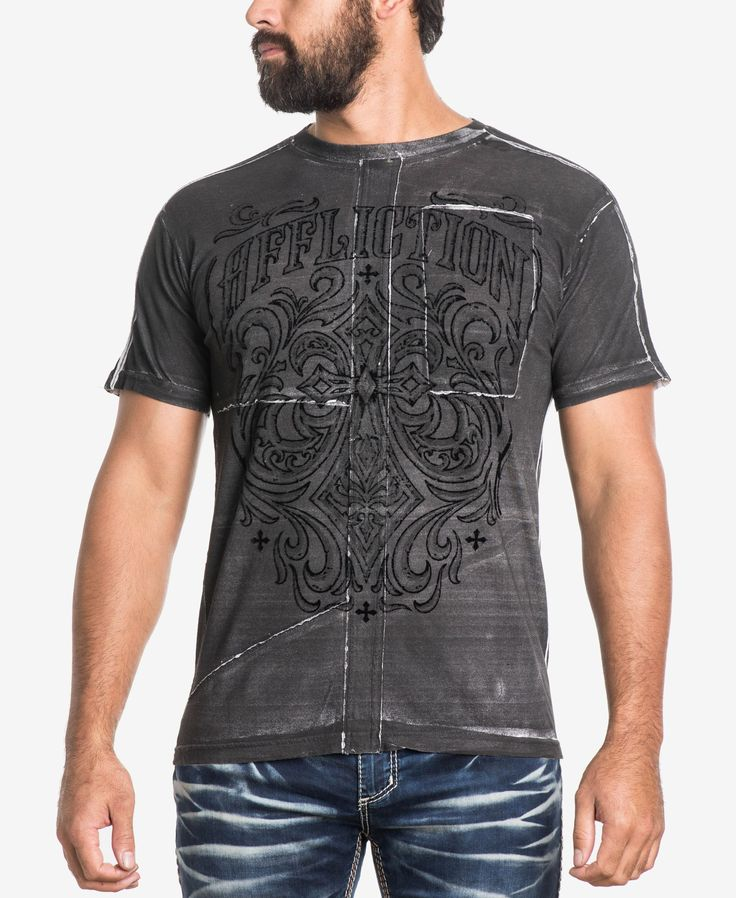 Offering a rock-solid addition to your casual wardrobe, this Ironside T-shirt…