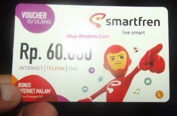 Paket Internet Smartfren 60 Ribu Termurah Sepanjang Masa