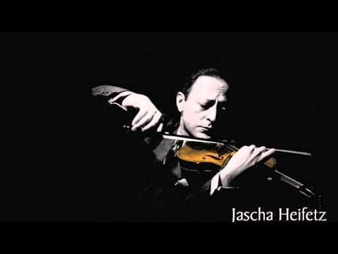 Jascha Heifetz plays Dvorak's Humoresque- the most perfect version there is!
