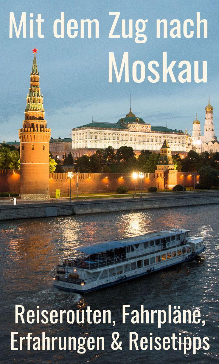 Im Vergleich Mit Dem Zug Nach Moskau Uber Weissrussland Oder Ukraine Russland Reisen Reisen Moskau