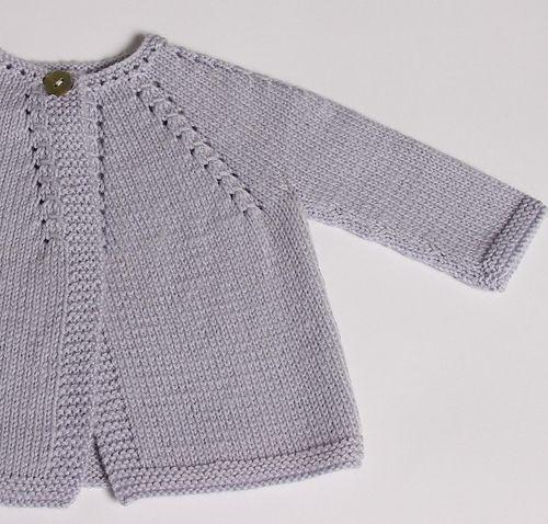 Knitting Pattern Baby Cardigan