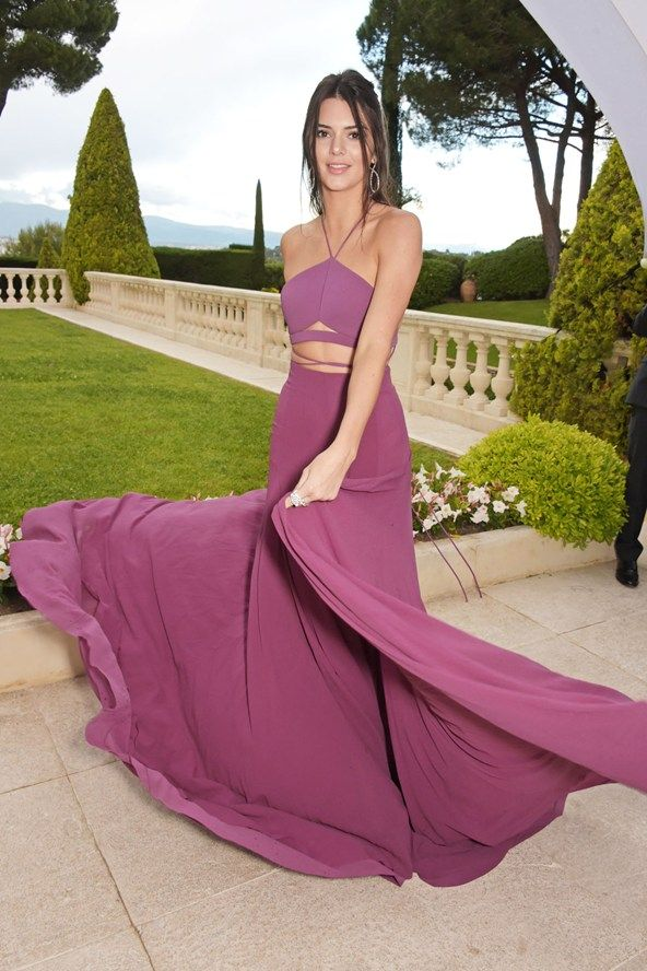 Kendall Jenner con joyería Chopard / Kendall Jenner with Chopard jewellery #Cannes2015 #amfAR