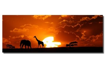 Afrikaanse zonsondergang - Woonaccessoires - WEBA meubelen Gent en Deinze/Oost-Vlaanderen en webshop: meubels aan scherpe prijzen