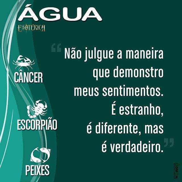 #signos #signo #signodeágua #câncer #peixes #escorpião #frase frases #pensamentos