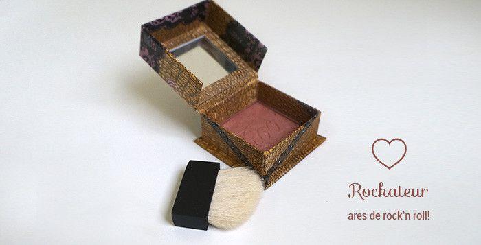O blush Rockateur da Benefit #blush @Benefit Cosmetics #rockateur