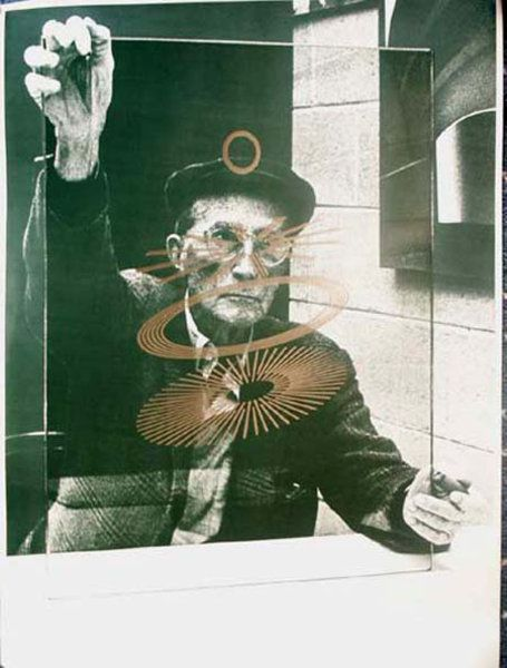 Portrait Of Marcel Duchamp 1968 by Richard Hamilton (1922-2011)