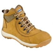 Athletic hiker - Honey Nubuck,Safety trainers , steel toe cap trainers, steel toe cap shoes