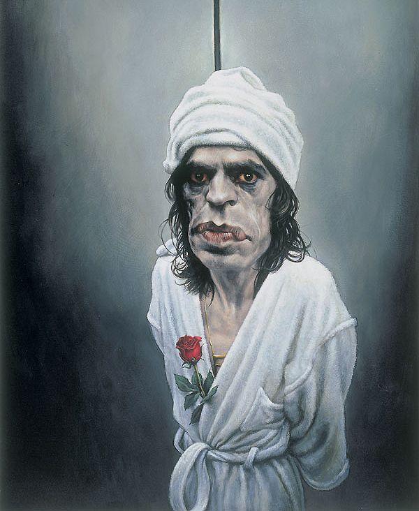 Mick Jagger by Sebastian Kruger